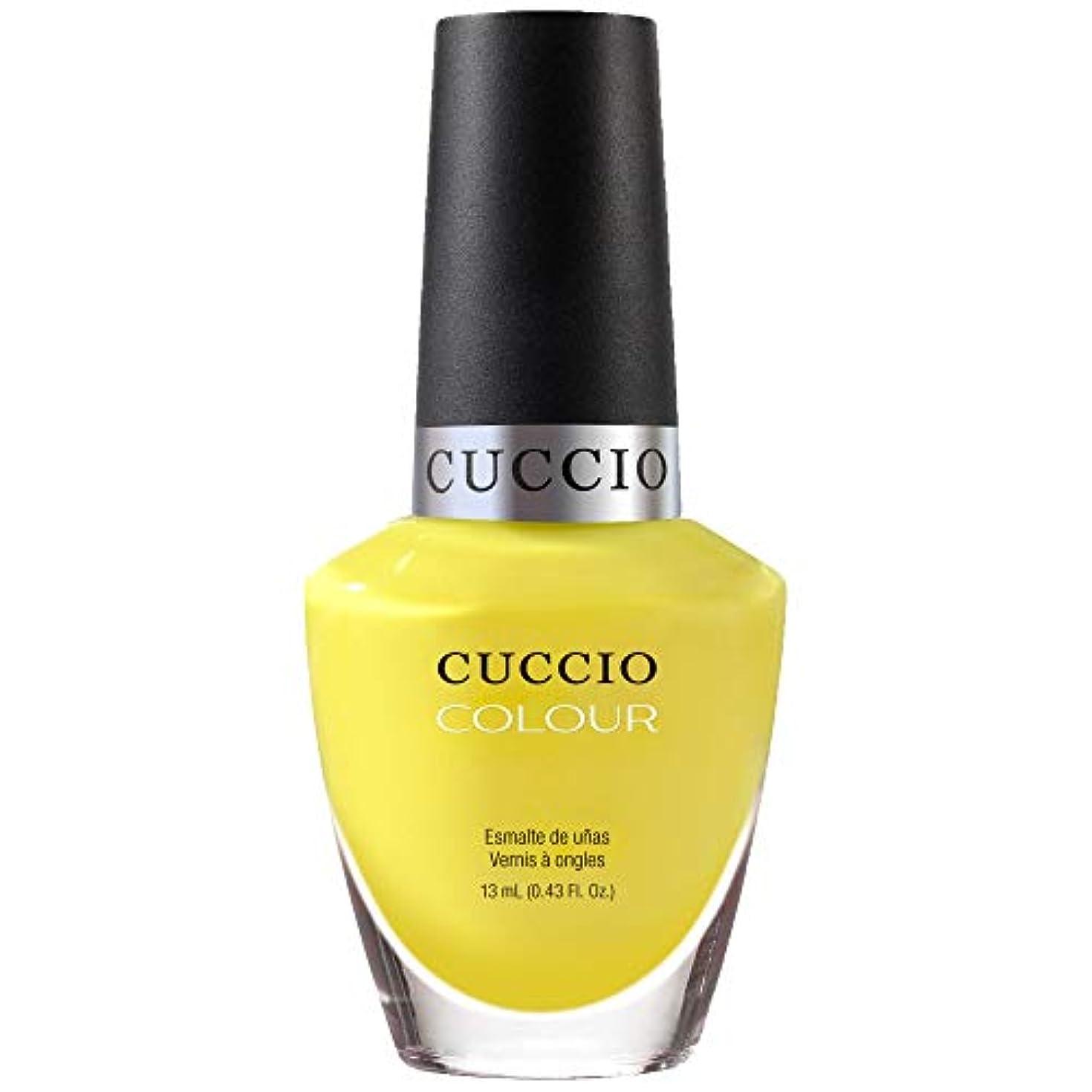 未来痛い再びCuccio Colour Gloss Lacquer - Lemon Drop Me A Line - 0.43oz / 13ml