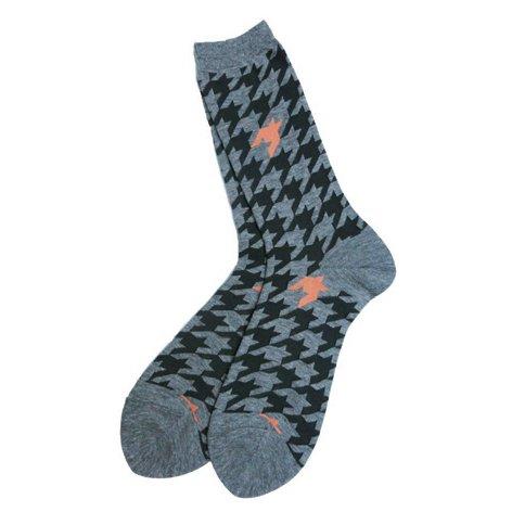 靴下・ソックス/サイズ:FREE/POINT COLOR SOCKS(HOUND'S TOOTH) アンリアレイジ