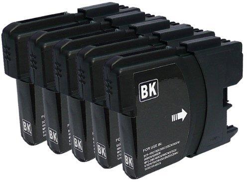 互換インク 5個セット LC11BK(黒)