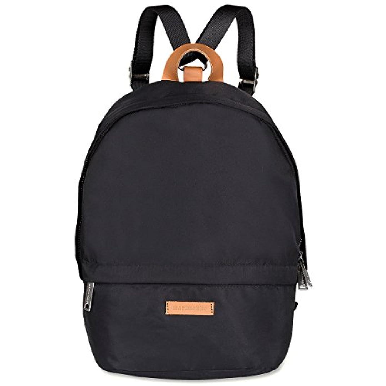 デイジー機械的洞窟(マリメッコ) marimekko ナイロン バックパック Mini Eira (ブラック) 046452 009 Mini Eira backpack Black [並行輸入品]