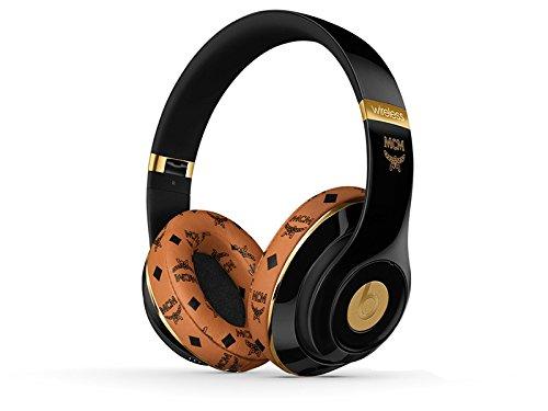 米版【MCM限定正規品】MCM(エムシーエム)Beats By Dr.Dre Studio 2.0 Bluetooth ブルートゥース対応 密閉型ワイヤレスヘッドホン ノイズキャンセリング ・ ( Color : ブラック )