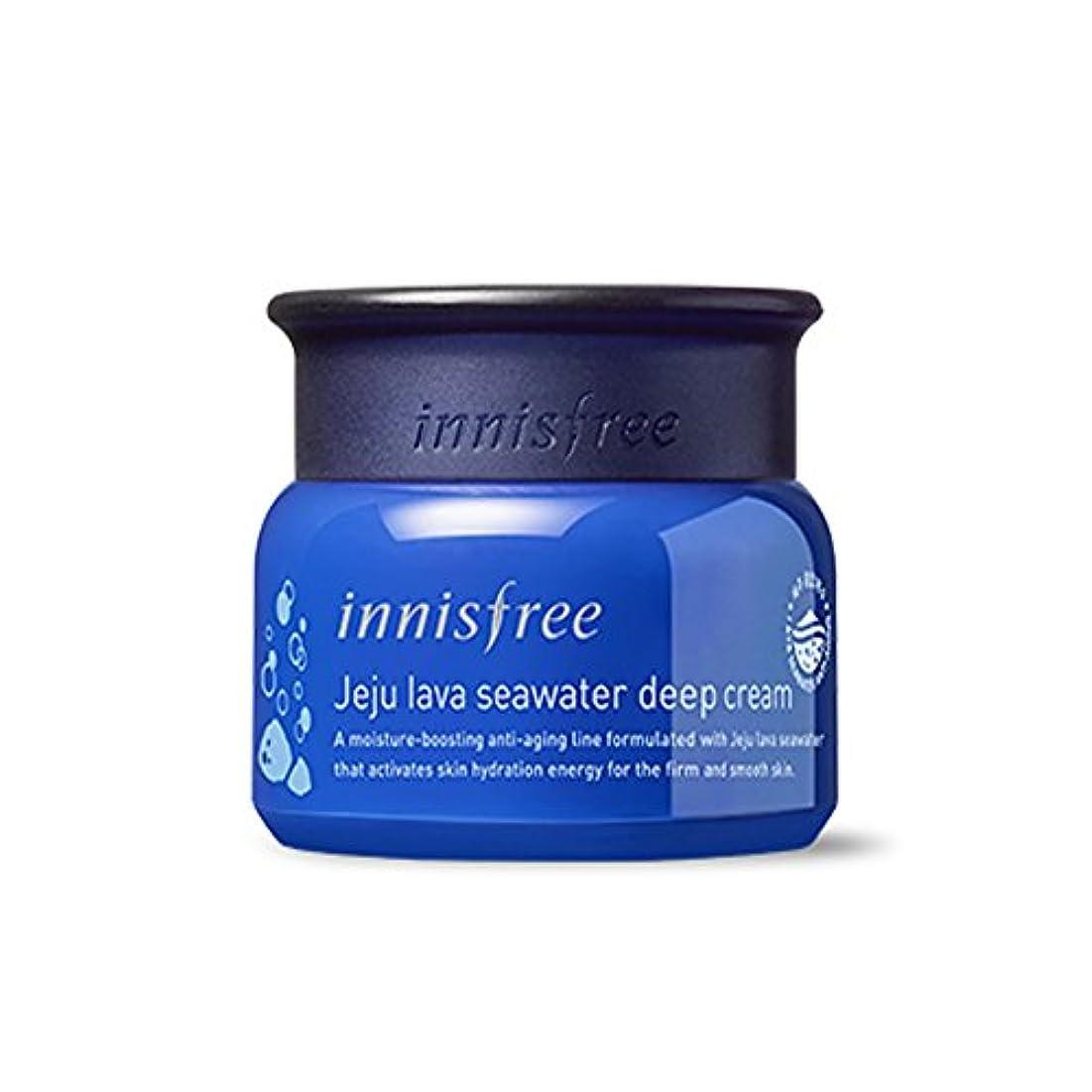銀河名目上のベルイニスフリー済州ラブシーウォーターディープクリーム50ml Innisfree Jeju Lava Seawater Deep Cream 50ml [外直送品][並行輸入品]