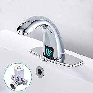 Amazon | センサー水栓 自動水栓 自動センサー水栓 自動センサー ...