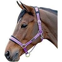 (コテージクラフト) Cottage Craft 馬用 パッド入り ヘッドカラー 馬具 乗馬 ホースライディング