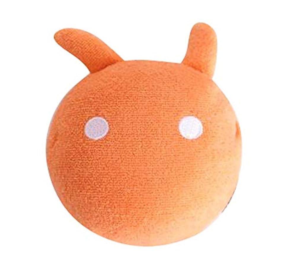 足音ペチコートアレルギー動物タイプラブリーベビーバスブラシ/バススポンジ、ベビーバスボール、B01