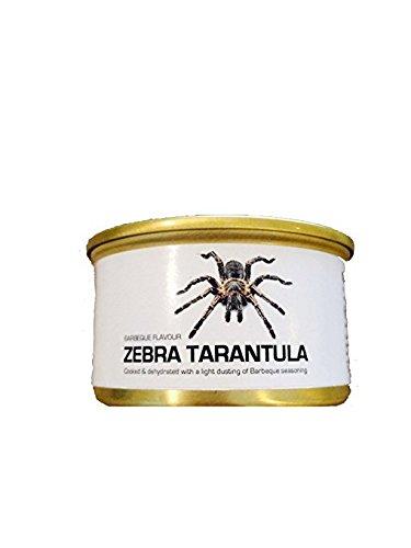乾燥 タランチュラ 缶詰 Edible Dehydrated Zebra Tarantula 1匹 [並行輸入品]