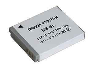 【実容量高】【残量表示対応】CANON キャノン PowerShot SX700 HS IXY Digital 930 IS の NB-6L NB-6LH 互換 バッテリー【ロワジャパンPSEマーク付】