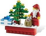 レゴ ハッピー・ホリデー(サンタクロースとクリスマスツリー)  / LEGO Happy Holidays Magnet 853353 [国内正規品]