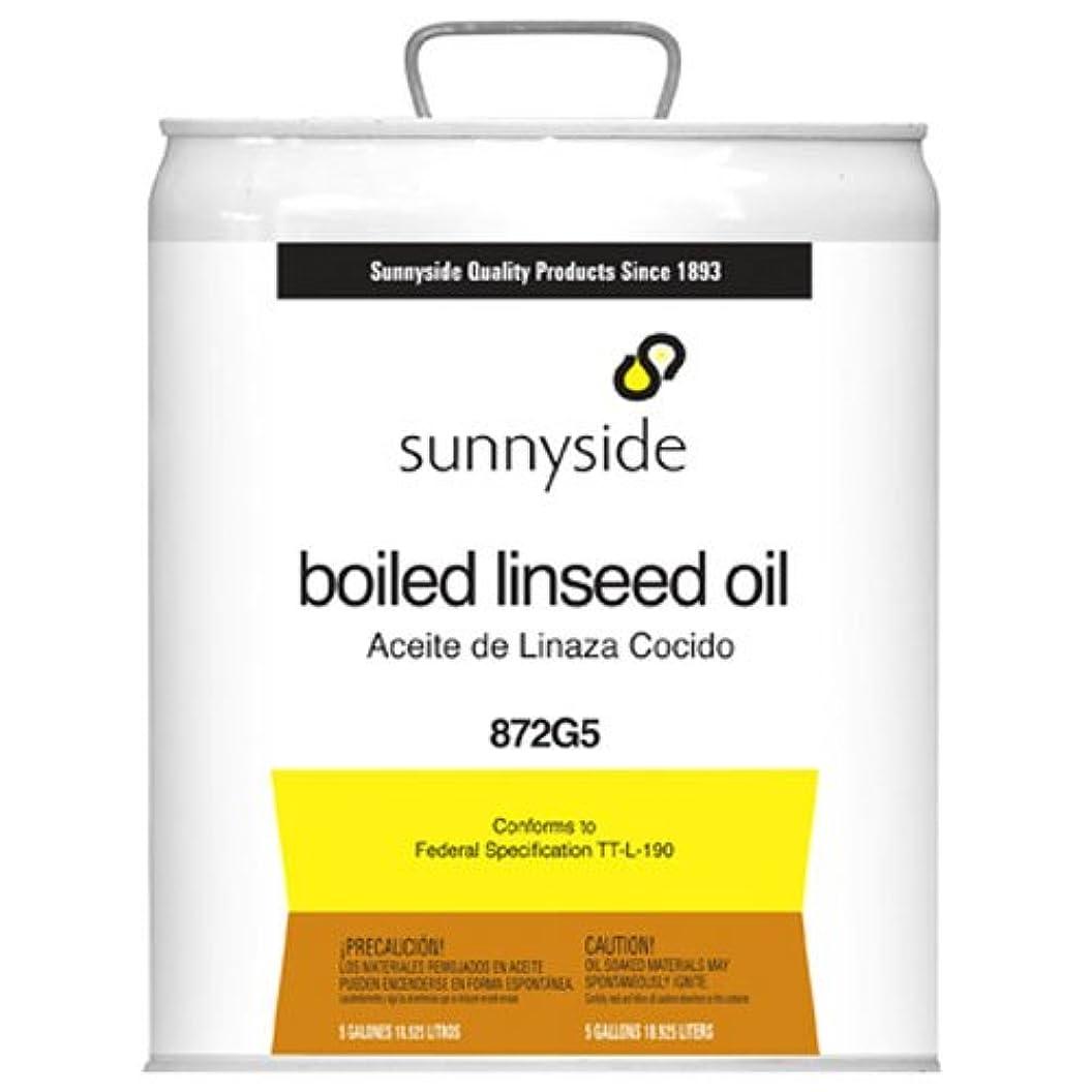 前投薬開発緩やかなサニーサイドCorporation 872 g5 18.93 L Boiledオイル亜麻仁油