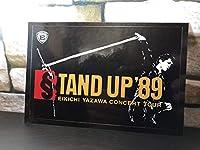 正規品 グッズ 矢沢永吉 コンサート タイトル ステッカー シール 入手困難 激レア 車 旧車 1989 stand up