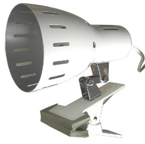 ヤザワ クリップライトE26 ホワイト CLX605WH