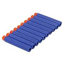 ROSENICE ナーフ N-ストライクエリート ダーツ 7.2 cm 100pcs(ブルー)