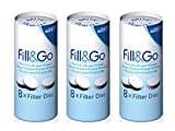 ブリタ(BRITA)フィル&ゴー(Fill&Go) ドイツ製用 フィルター(8枚入り) x 3個 [並行輸入品]