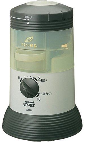 パナソニック 家庭用臼式お茶粉末器 (すりかた調節機能付タイプ) EU6820-G