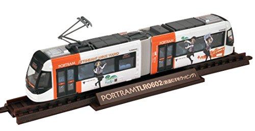 鉄道コレクション 鉄コレ 富山ライトレール 鉄道むすめ2017ラッピングver ジオラマ用品 (メーカー初回受注限定生産)
