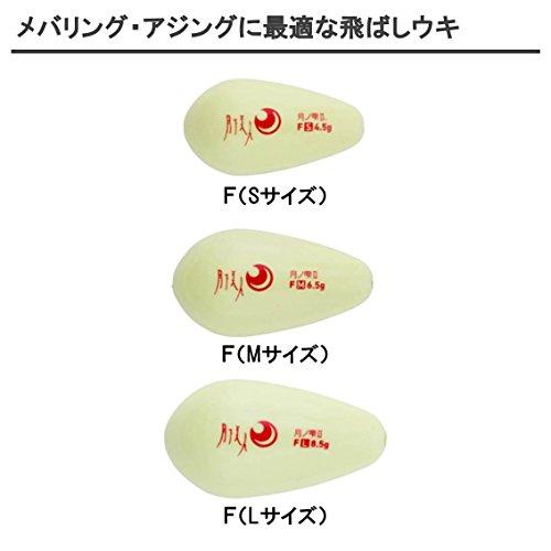 ダイワ(Daiwa) ウキ アジング メバリング 月下美人 月ノ雫II F(フロート) L 8.5g