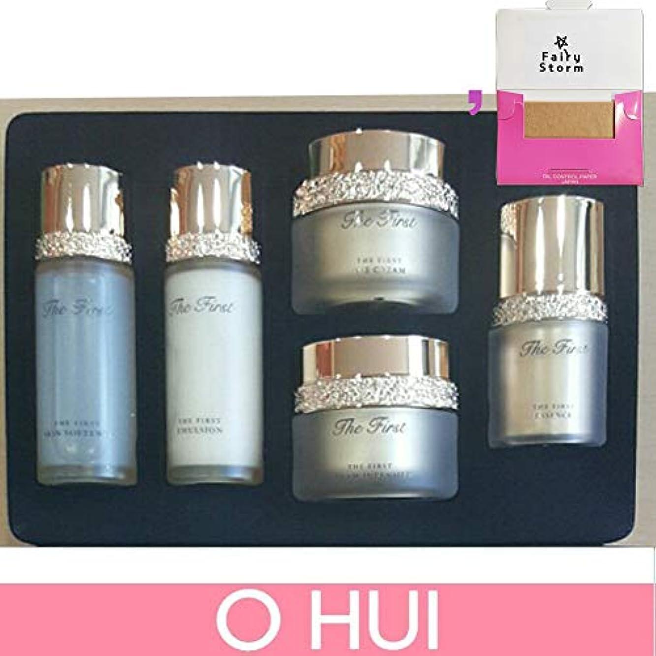 肩をすくめる理容師キャラクター[オフィ/O HUI]韓国化粧品 LG生活健康/OHUI the First Cell Revolution 5pcs Special Kit Set + [Sample Gift](海外直送品)