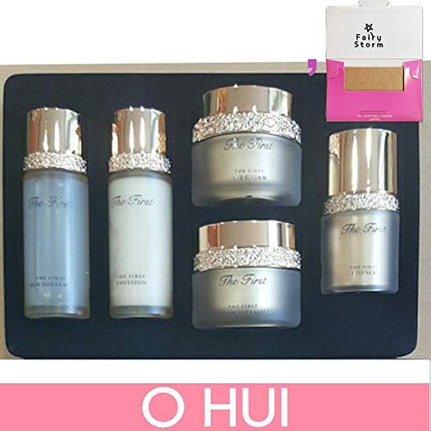 新しさ国未使用[オフィ/O HUI]韓国化粧品 LG生活健康/OHUI the First Cell Revolution 5pcs Special Kit Set + [Sample Gift](海外直送品)