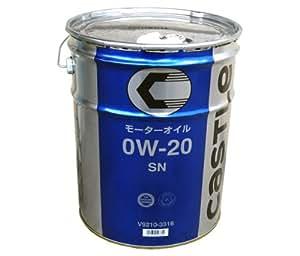 ☆キャッスル エンジンオイル SN 0W-20 20L▽