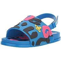 Mini Melissa Unisex-Child Girls Vwa + Mini Beach Slide Sandal Ii