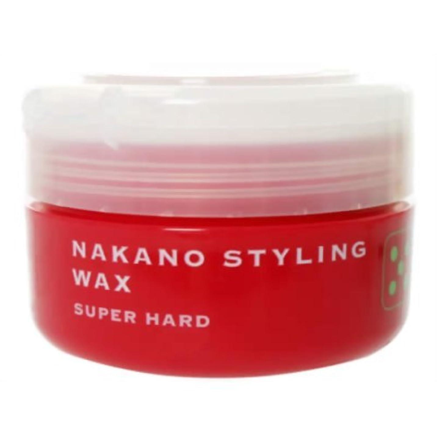 険しい頭痛破滅的なスタイリング ワックス 5 スーパーハード 90g 【ナカノ】
