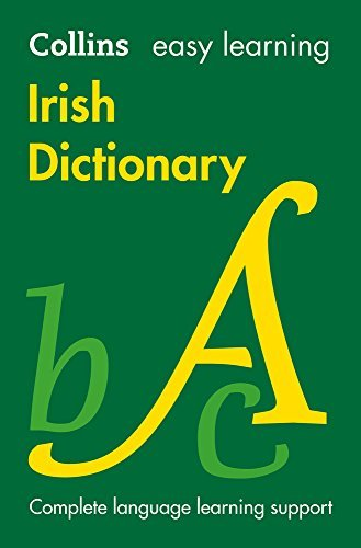 Easy Learning Irish to English (One Way) Dictionary (Collins Easy Learning Irish)
