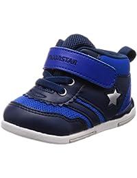 [ムーンスター] ベビーシューズ 4大機能 通園 運動会 靴 足育 ゆったり MS B95