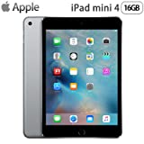 Apple iPad mini 4 Wi-Fiモデル 16GB MK6J2J/A アップル アイパッド ミニ MK6J2JA スペースグレイ