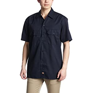 (ディッキーズ)Dickies 【公式】1574 半袖ワークシャツ 1574 DN DN M