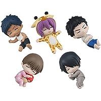 ぐっすりおやすみ黒子のバスケ2 アニメ フィギュア グッズ ガチャ バンダイ(全5種フルコンプセット)