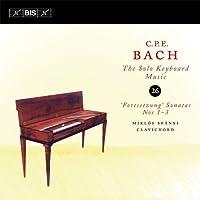C.P.E.バッハ : 鍵盤独奏曲全集 Vol.26 (C.P.E.Bach : The Solo Keyboard Music 26 ~ 'Fortsetzung' Sonatas Nos 1 - 3 / Miklos Spanyi (clavichord)) [輸入盤]