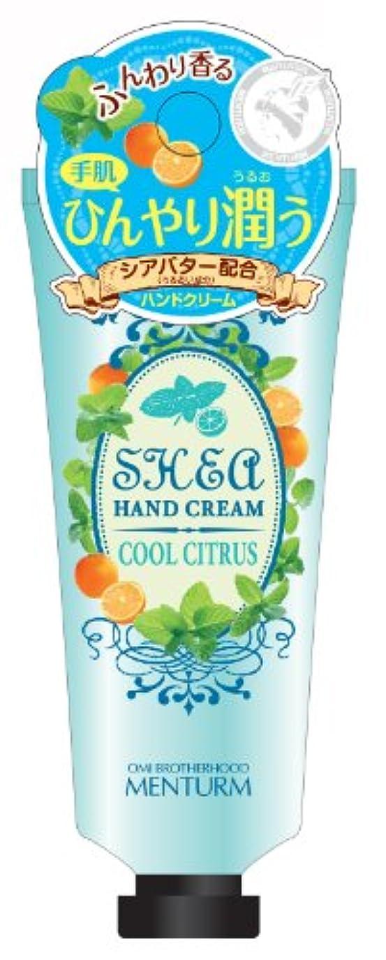 成長する野な含むメンターム シアハンドクリーム クールシトラス 35g