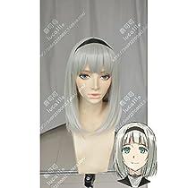 耐熱コスプレウィッグ 下ネタという概念が存在しない退屈な世界 アンナ・錦ノ宮  かつら cos wig  sunshine onlineが販売+おまけ
