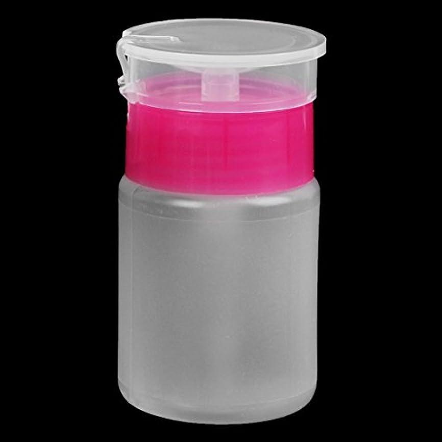 変えるコンパニオンシリーズSimpleLife 70mlネイルアートクリア空のディスペンサークレンザーボトルマニキュアプレスボトル