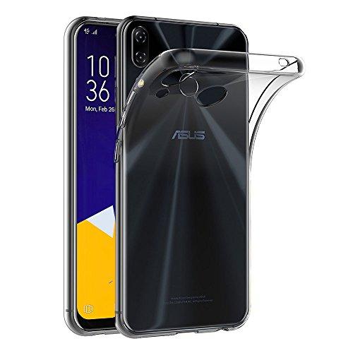Asus Zenfone 5 ZE620KL ケース AICEK Asus Zenfone 5 ZE620KL クリア ソフト シリコン TPU ケース 耐衝撃 落下防止 保護カバーAsus Zenfone 5 ZE620KL 対応6.2型ワイド専用