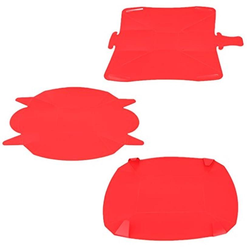 チケット普及絶滅Baoblaze 折り畳み式 キャンプ用 食器セット 皿 プレート ボウル カップ 3つ入り