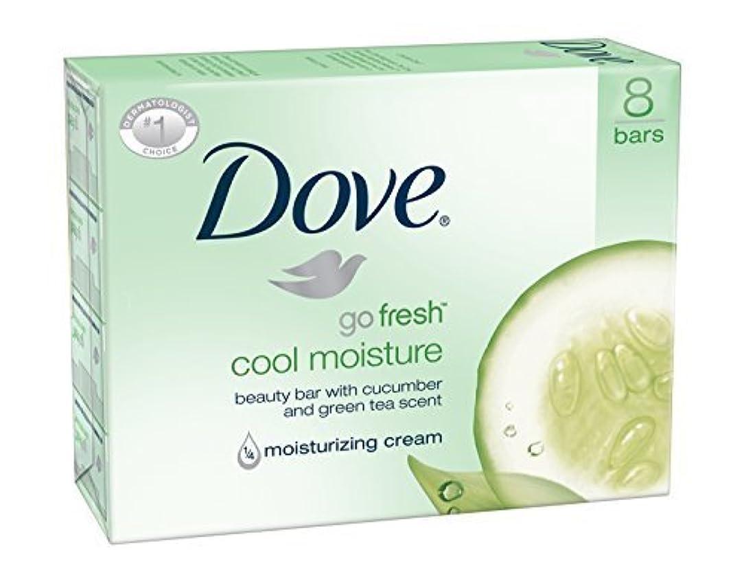 プロペラ開業医些細Dove Bar Soap, Cool Moisture, 16 Count [並行輸入品]