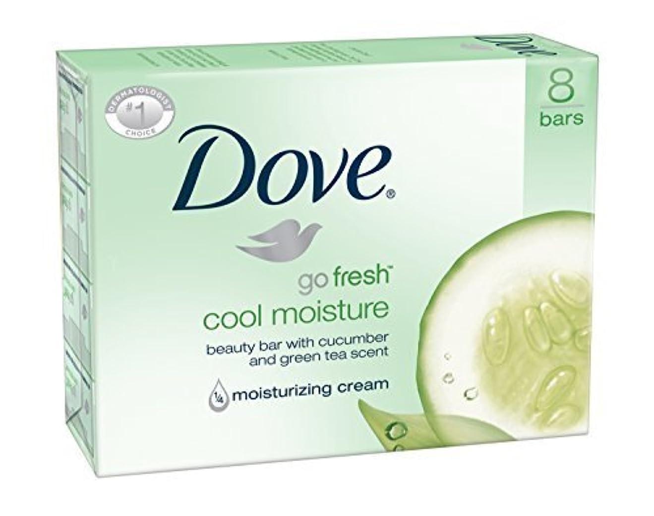 愛情トリクル戻るDove Bar Soap, Cool Moisture, 16 Count [並行輸入品]