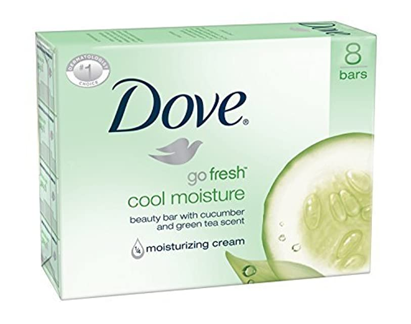お手入れ立ち寄る誰Dove Bar Soap, Cool Moisture, 16 Count [並行輸入品]