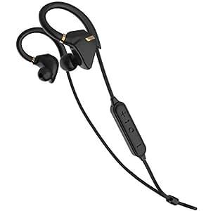 iina-style Bluetooth イヤホン 防水 IPX7 高音質 iPhone7 AAC 対応 スポーツ仕様 外れにくい Bluetooth ヘッドホン ハンズフリー通話 CVC6.0 BT Ver 4.1 ワイヤレス イヤホン [メーカー直販・1年保証付] (ブラックゴールド)