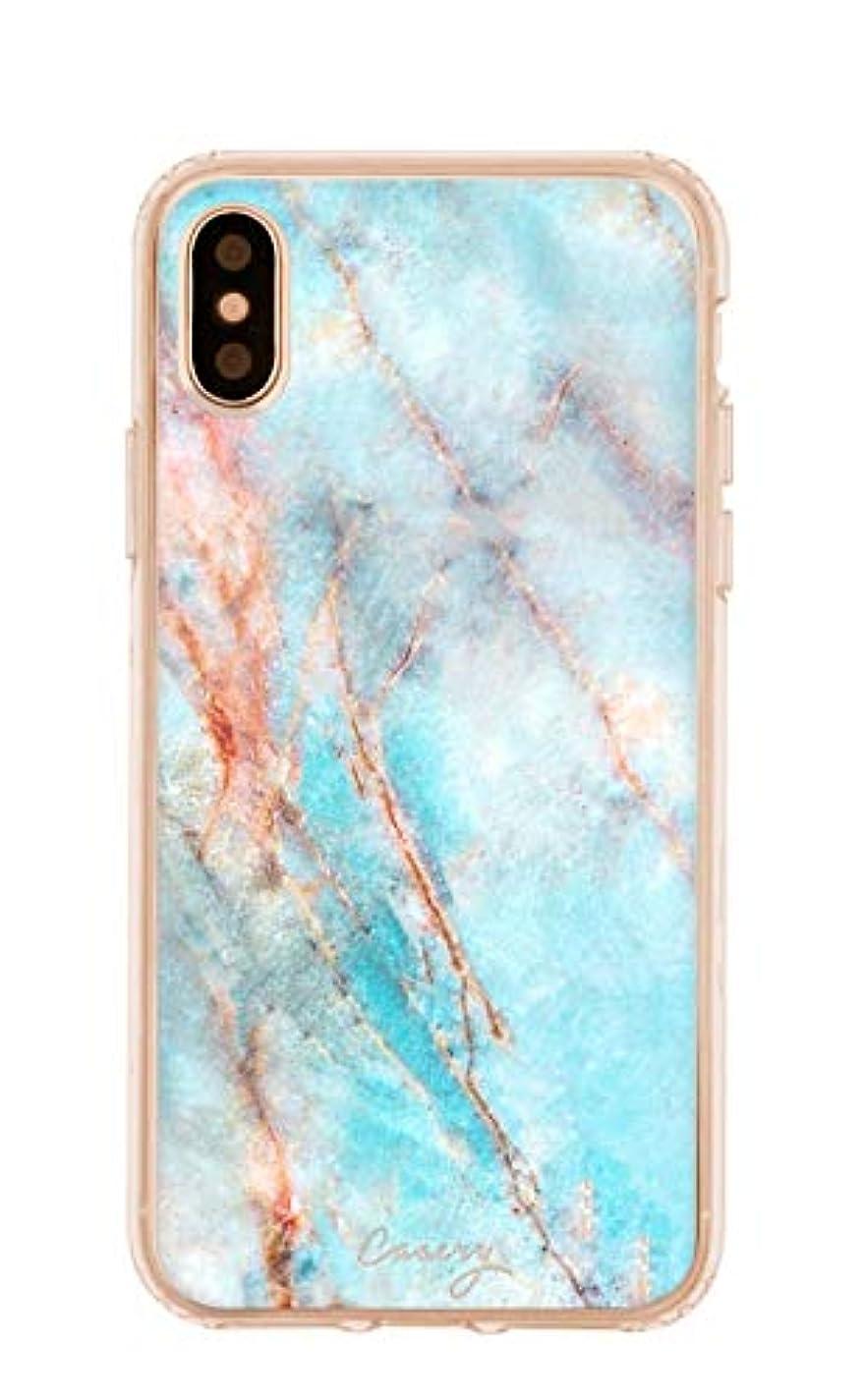 表現調子責めるCasery Frosty Marble iPhone Xr用スマホケース IXRH-0291