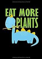 Notizbuch: Dino Kinder Vegetarier Veganer Schule Geschenk 120 Seiten, A4, Blanko / Skizzen, Tagebuch
