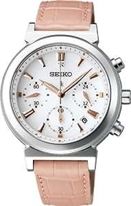 [セイコー]SEIKO 腕時計 LUKIA ルキア ソーラークロノグラフ 日常生活用強化防水 (10気圧) スーパークリアコーティング SSVS007 レディース