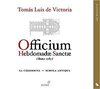 Officium Hebdomadae Sanctae Rome 1585