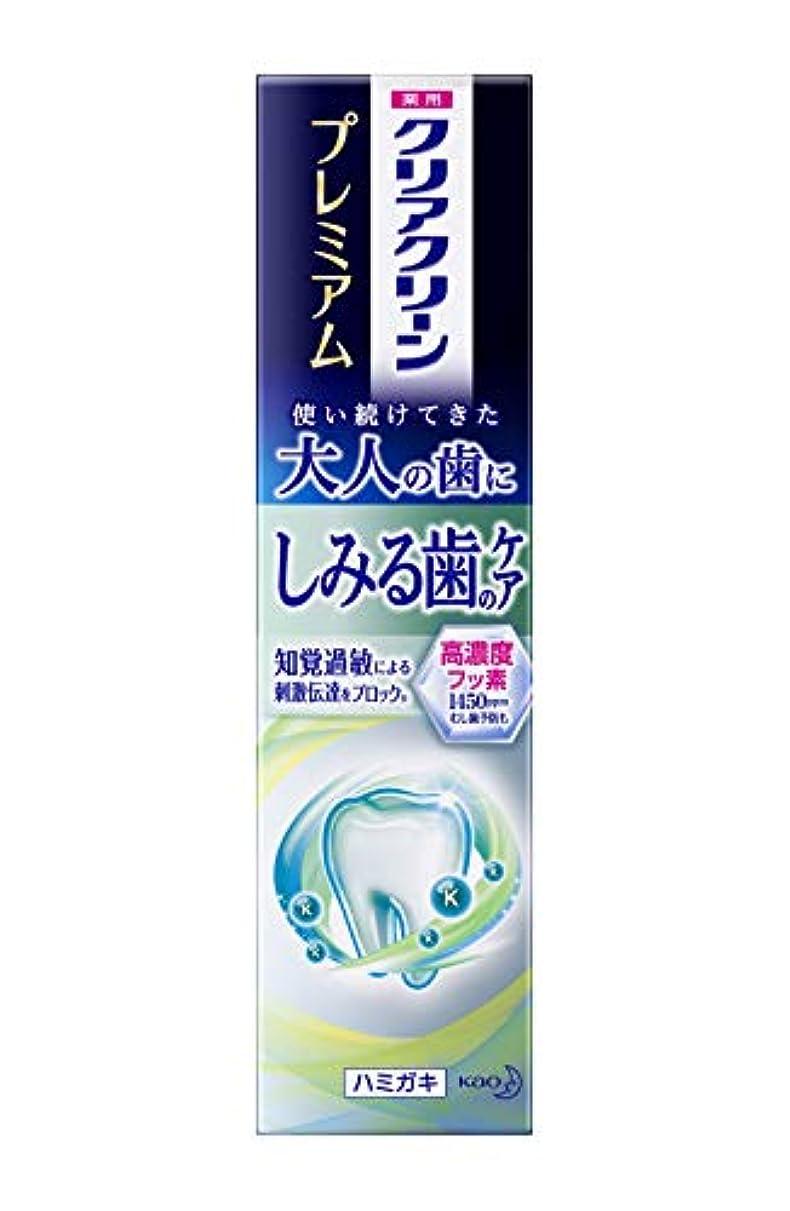 規制調和肥沃なクリアクリーン プレミアム しみる歯のケア(知覚過敏) 100g