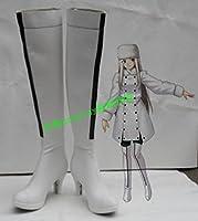 COSLIFE フェイト/ゼロ アイリスフィール コスプレ靴 cosplay コス 靴 ブーツ 下駄 ハイヒール シューズ (27cm)