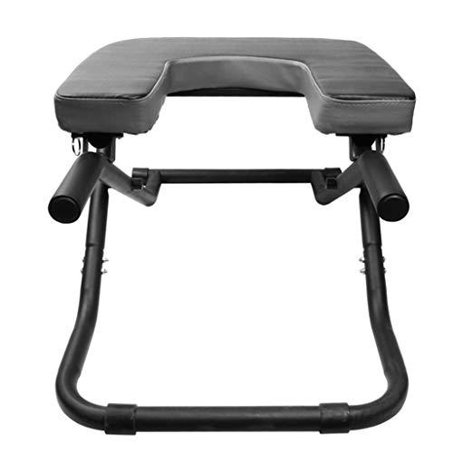 倒立椅子ヨガ補助椅子ホームフィットネス逆さまのスツール反転多...
