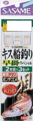 ささめ針(SASAME) B-213 キス船釣り早掛スペシャル 6号0.8