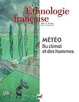 Revue D'Ethnologie Francaise T.4; météo du climat et des hommes