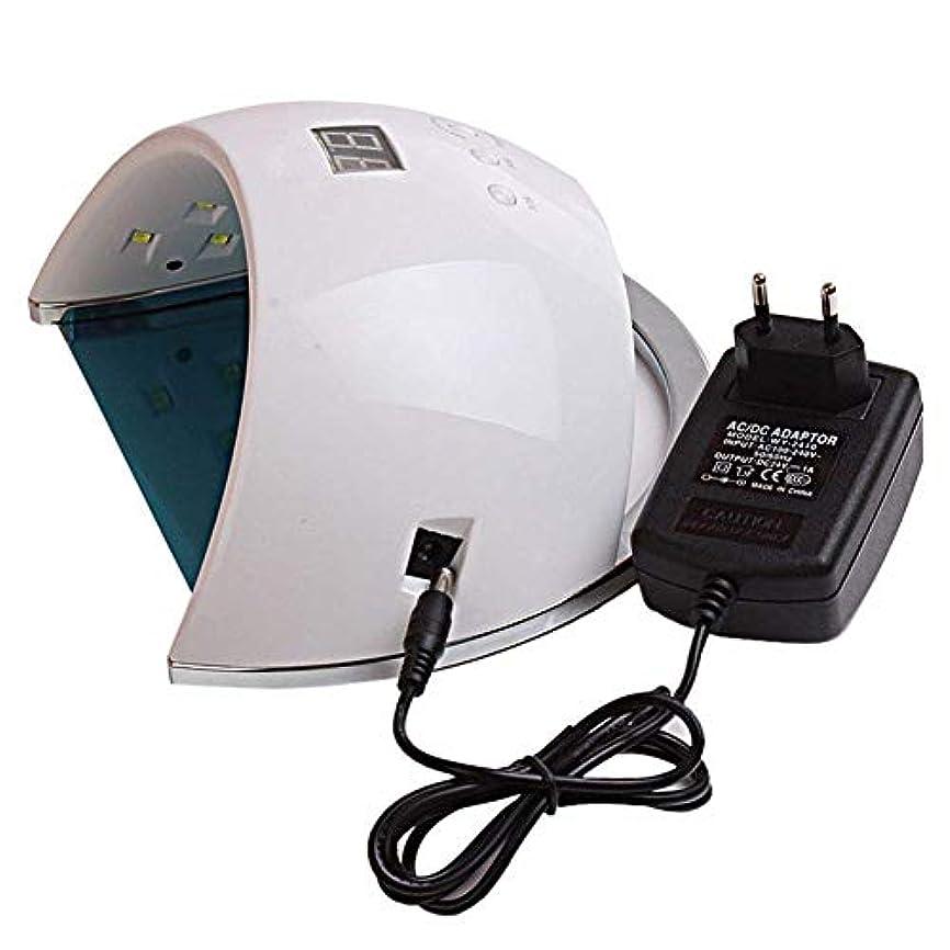 振り向くシガレット仕出しますネイルドライヤーランプ用ネイル48W SUN6 UV LEDランプポータブル高品質ネイルドラムセンサーとLCD硬化UVネイルジェルネイルツールufランプ、画像としての色